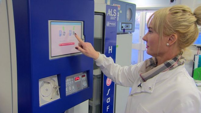Blood Vending Machine 'a first' for NI