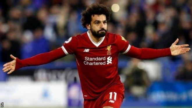 Mshambuliaji wa Liverpool Mohammed Salah