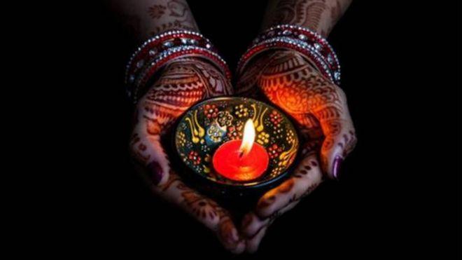 diwali festival celebrated in edinburgh bbc news