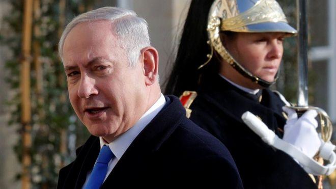 Netanyahu: Falastiiniyiintu xaqiiqada ha wajahaan