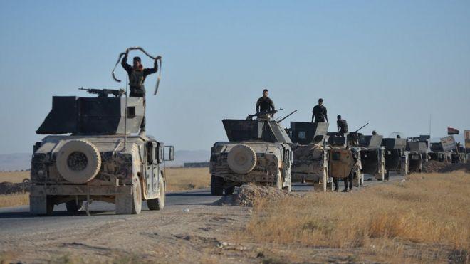 Irak: Tel Afer yakınlarındaki 5 köyü IŞİD'den geri aldık