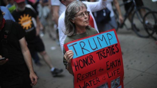 'ترامپ تغییرات آب و هوایی را قبول دارد'