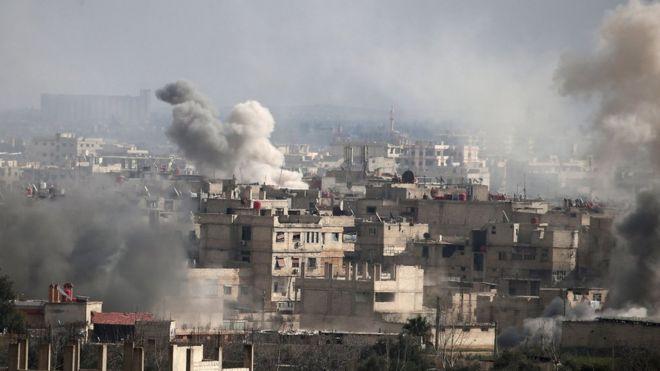 دبیرکل سازمان ملل: به بحران غوطه، 'جهنم روی زمین' پایان دهید