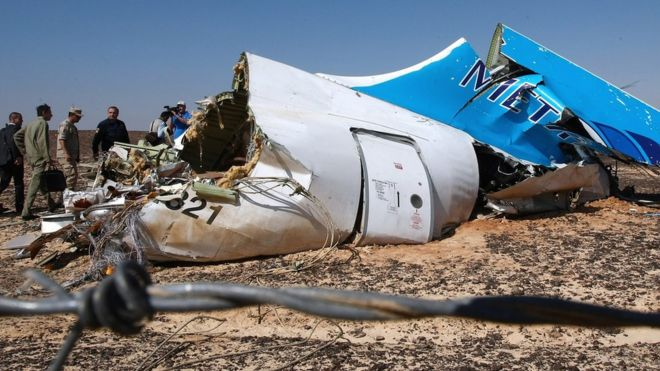 A Russian plane carrying 71 ob board Crashed 1