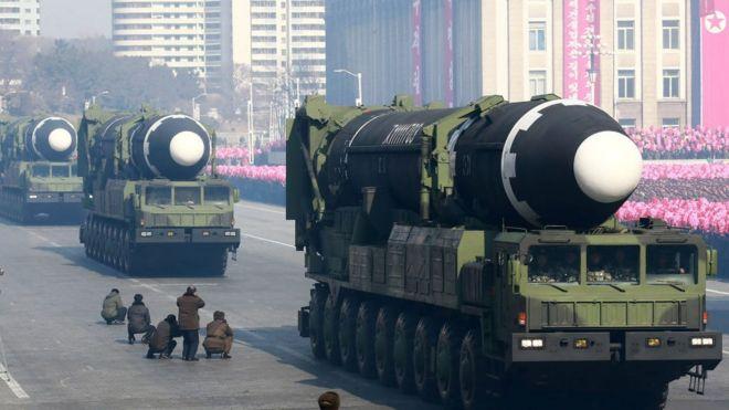 Hwasong-15 misiles balíssticos