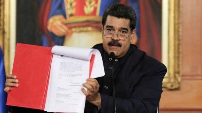 Mapema mwezi huu Rais Maduro alipitisha kuanzishwa kwa bunge la kutunga katiba mpya