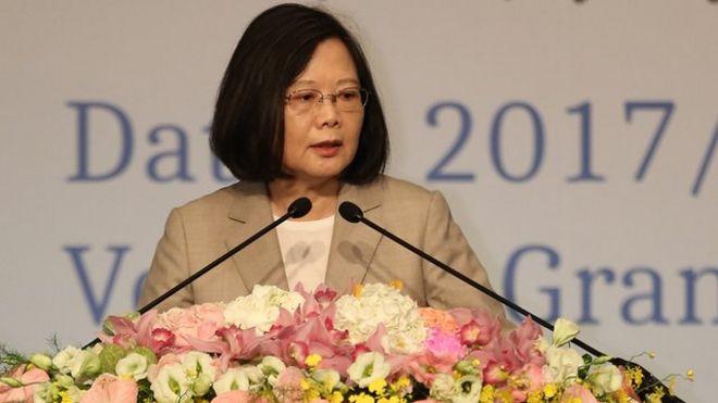 蔡英文出訪台灣在南太平洋國家的時機是中共十九大之後、特朗普訪中之前。