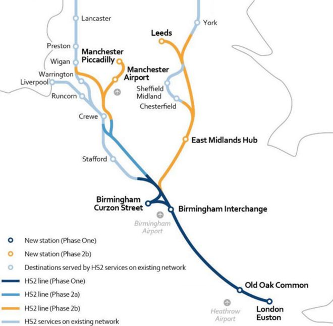What do we know about HS2 BBC News
