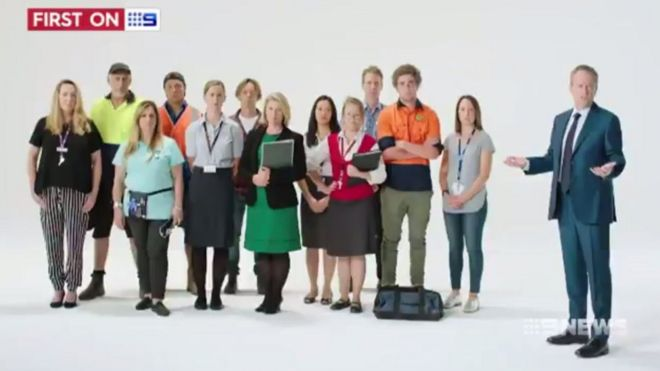 Bill Shorten admits his new 'Australians First' ad was a 'bad oversight'