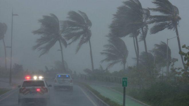 Resultado de imagen para El huracán Irma golpeó a Florida