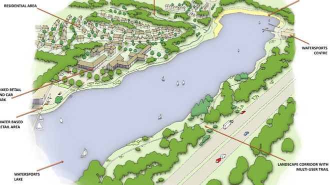 Pleasant 2M North Lincolnshire Lakes Plan Goes On Display Bbc News Largest Home Design Picture Inspirations Pitcheantrous