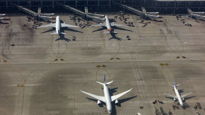 Shanghai Pudong International Airport, 23 October 2014