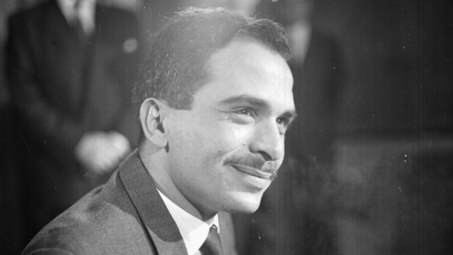 King Hussein of Jordan, pictured 1964