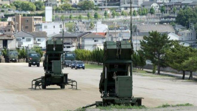 PAC-3 được triển khai tại Kaita, tỉnh Hiroshima vào hôm 12/08/2017