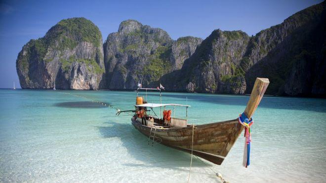 Maya Bay, na Tailândia