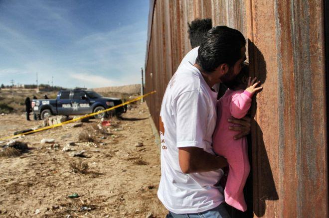 دیوار مرزی مکزیک و آمریکا