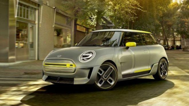 Mini Electric Car Design Revealed By Bmw Bbc News