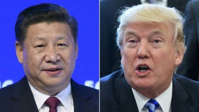 """美国总统特朗普与中国国家主席习近平将在特朗普的佛罗里达海湖度假庄园举行""""特习会""""。"""