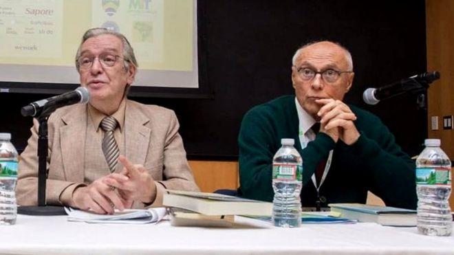 Olavo de Carvalho e Eduardo Suplicy