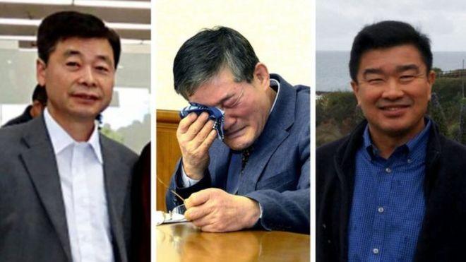 Bắc Hàn, Hoa Kỳ, tù nhân