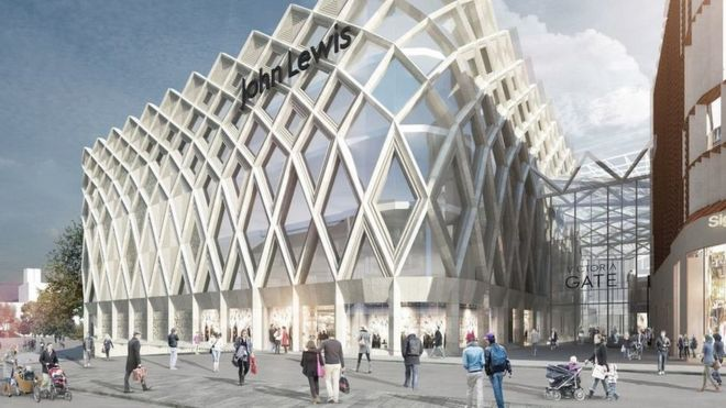 John Lewis to recruit 550 staff for Leeds city centre store  BBC News