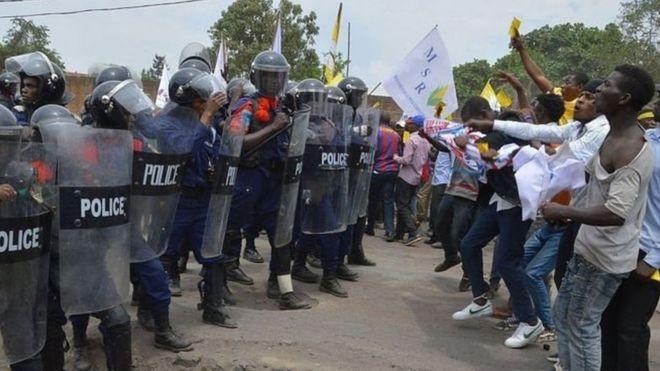 Imyigaragambyo irwanya Perezida Kabila i Goma mu kwa cumi 2016.