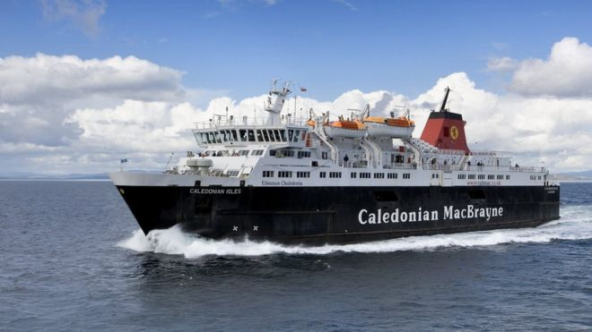 Caledonian MacBrayne finalises 'improved timetable' - BBC News