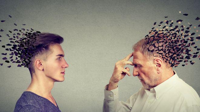 Ilustración de pérdida de memoria. SIphotography /Getty Images