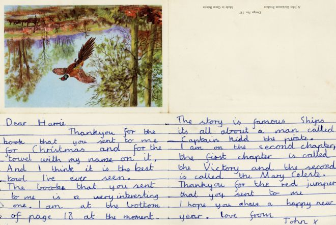 letter written by john lennon
