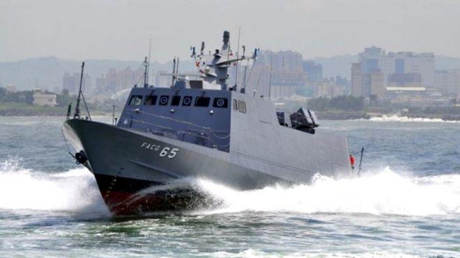 光華六型是目前台灣海軍飛彈快艇的主力。