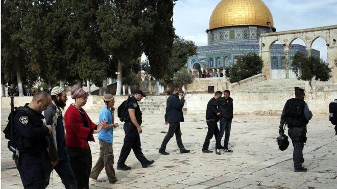 Israel yafungua eneo takatifu Jerusalem