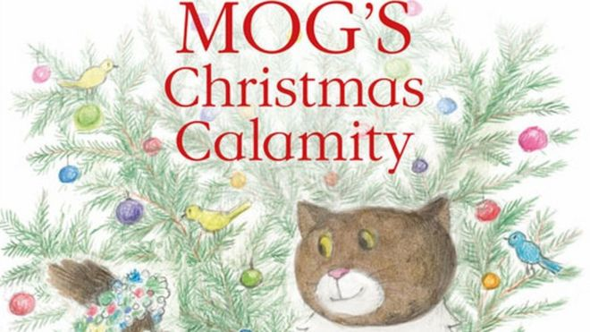 Mog's Christmas Calamity tops book chart for third week - BBC News