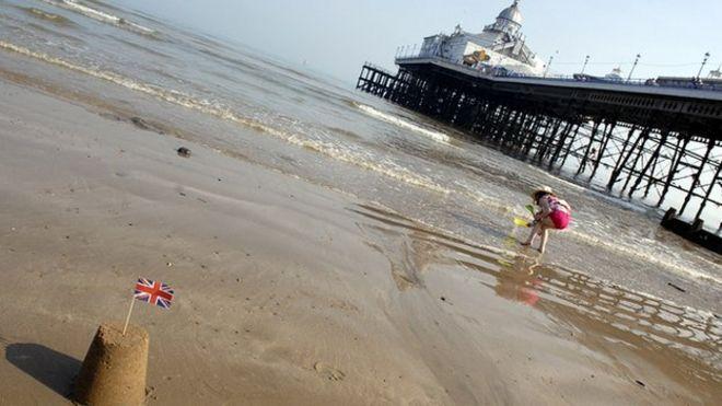 Seaside scene