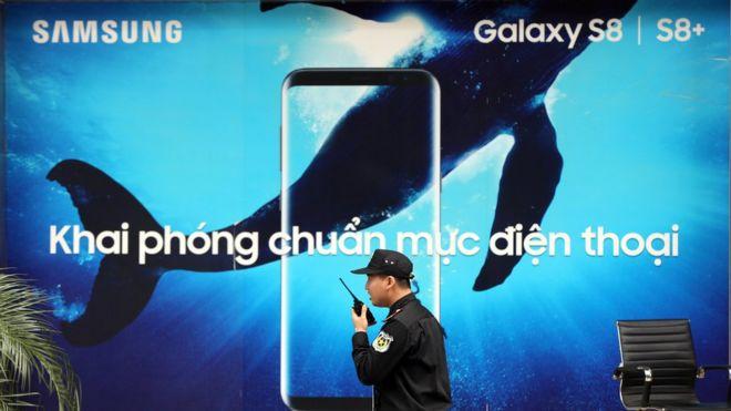 Samsung là một trong các nhà đầu tư lớn nhất ở Việt Nam