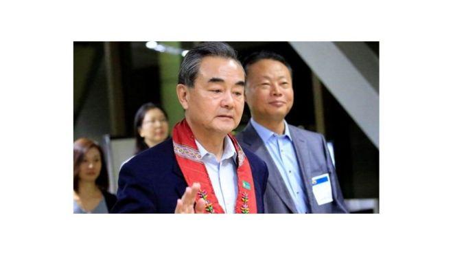 Wang Hi na Ri Yong-ho