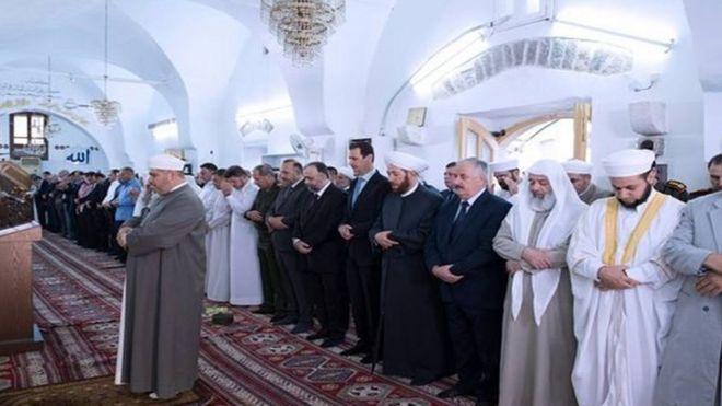 بشار اسد در حما