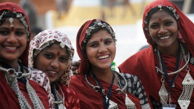 Jóvenes de India