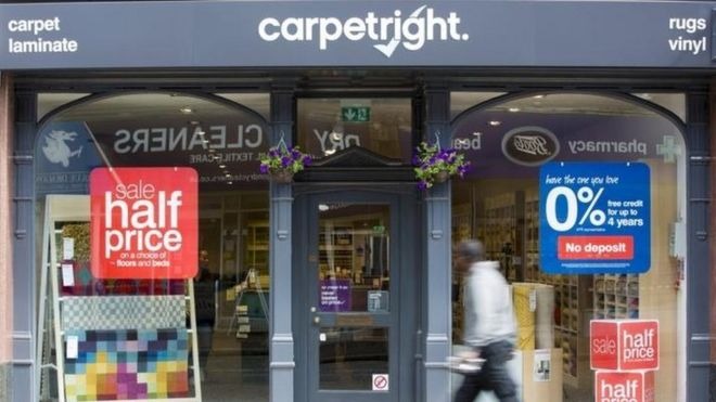 Carpetright store
