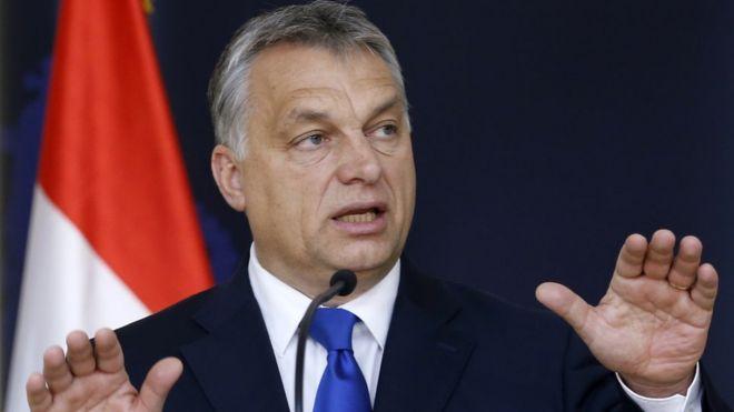 Орбан желает выгнать изЕС всех нелегалов