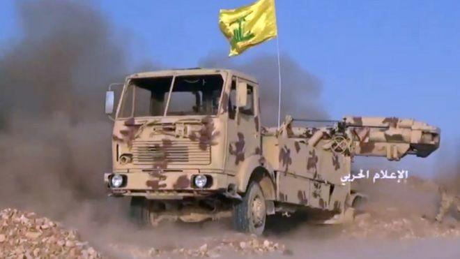 Suriye ordusu ve Hizbullah'tan tekfirci katil gruplara operasyon