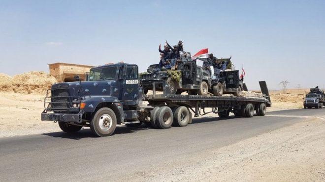 عراق عملیات پس گرفتن تلعفر از داعش را آغاز کرد