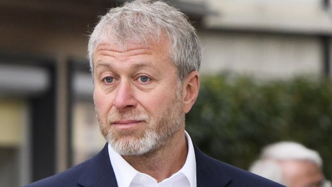 Roman Abramovich in Fribourg, Switzerland, on 2 May 2018
