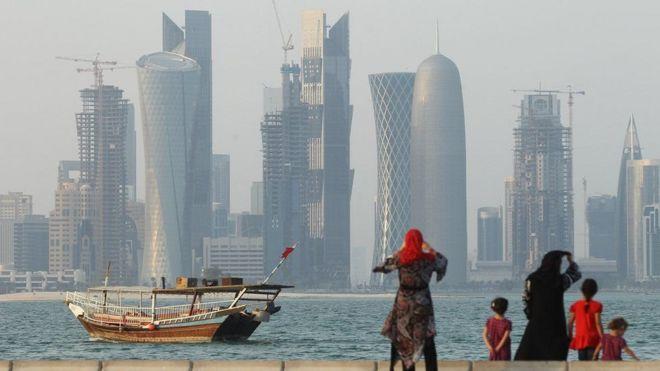 Mji mkuu wa Qatar Doha
