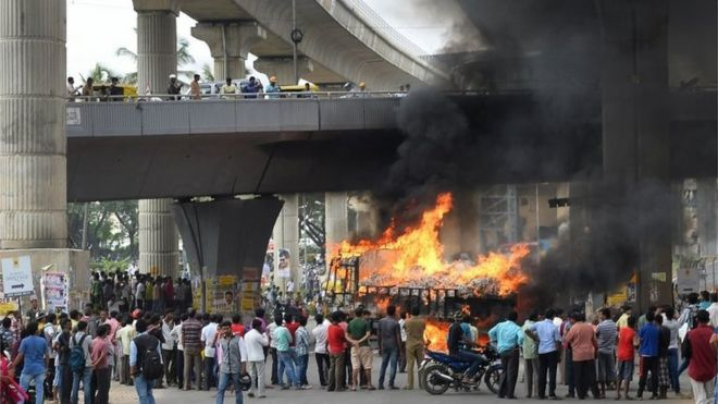 Image result for bangalore violence