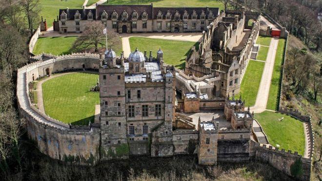 Bolsover - a model castle