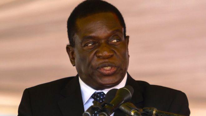 Resultado de imagen para foto de emerson mngawa, vicepresidente de Zimbabwe