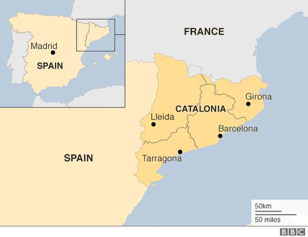 Catalonia region profile BBC News