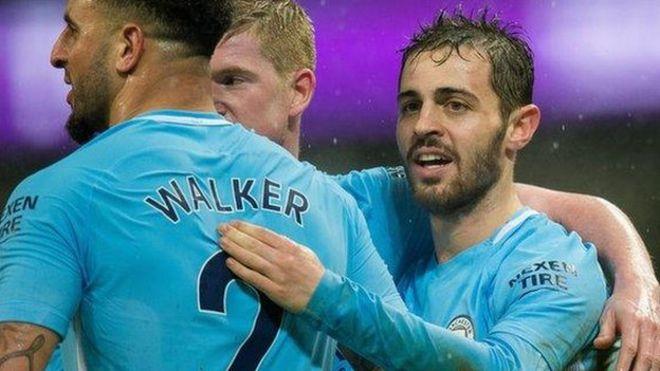 Man City yakaribia ubingwa ligi kuu ya England