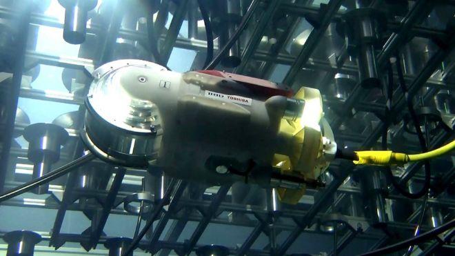 'Peixe-robô' da Toshiba