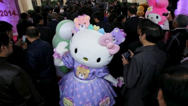 Hello Kitty fan event